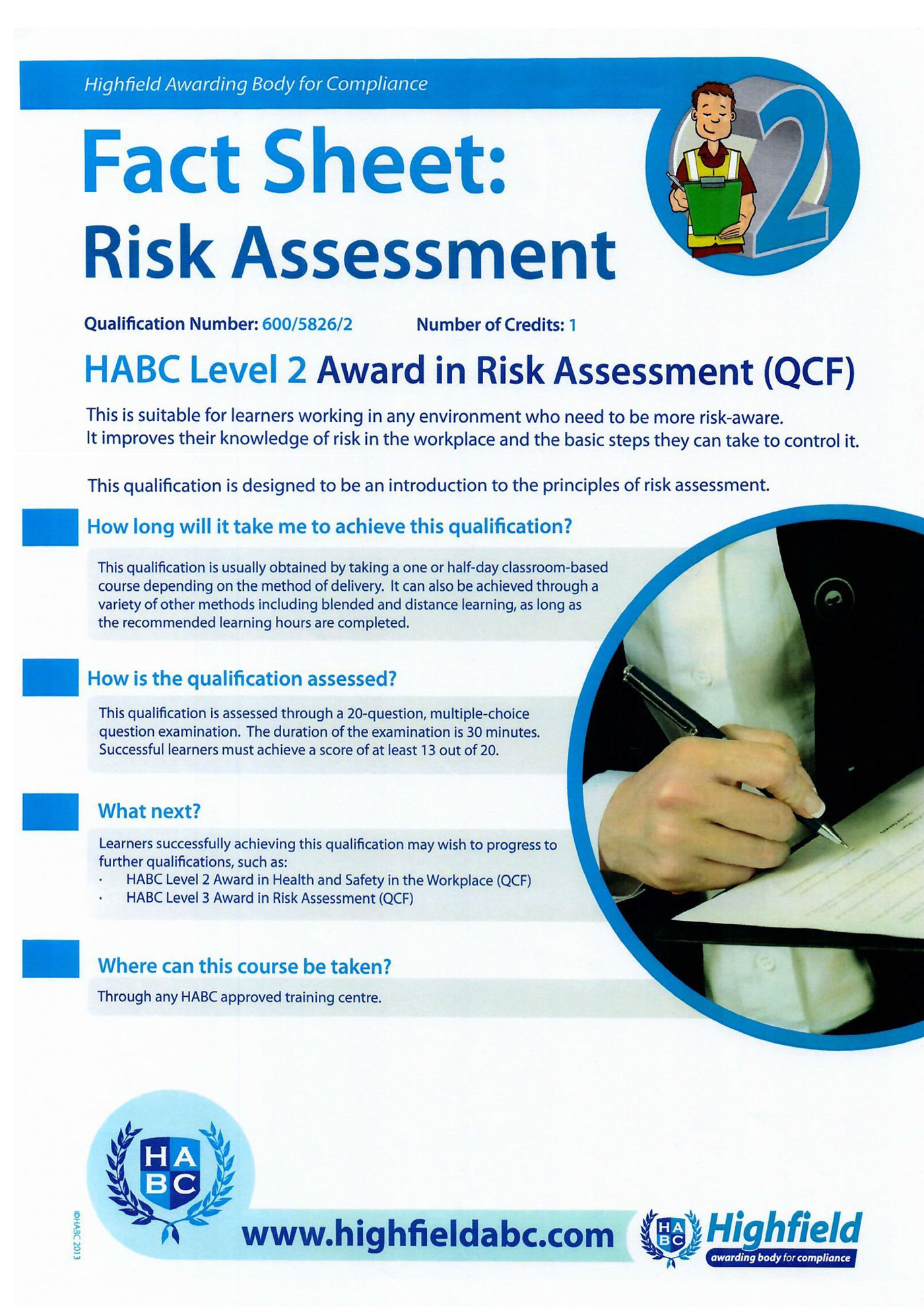 qualification specification habc level 4 award 3 habc level 2 award in conflict management (qcf) introduction this qualification specification document is designed to outline all you need to know in order to offer this.